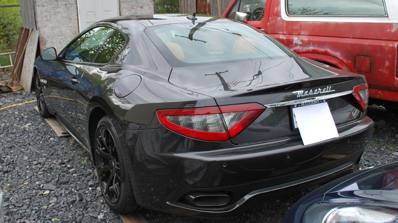 2014 Maserati impounded