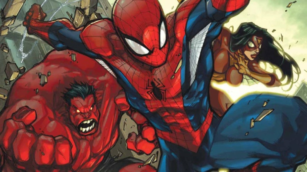 Marvel Comics said Friday it aims to have nearly all of its titles available for download by April 2012. (AP Photo/Marvel Comics)