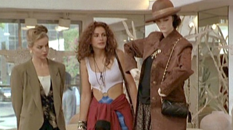 Julia Roberts' character encounters rude salespeople in the 1991 film Pretty Woman. (Touchstone Pictures)