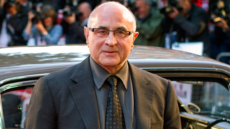 British actor Bob Hoskins arrives for the World Premiere of 'Made in Dagenham' in London, Sept. 20, 2010. (AP / Joel Ryan)