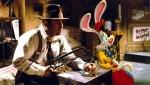 Bob Hoskins in a scene from 'Who Framed Roger Rabbbit?'