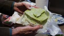 Marijuana butter for baking