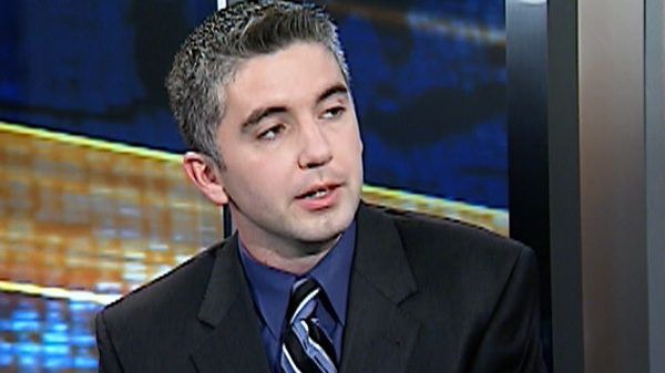 Patrick Burke, NHL scout and son of Toronto Maple Leafs GM Brian Burke, speaks on CTV's National Affairs on Friday, Nov. 4, 2011.