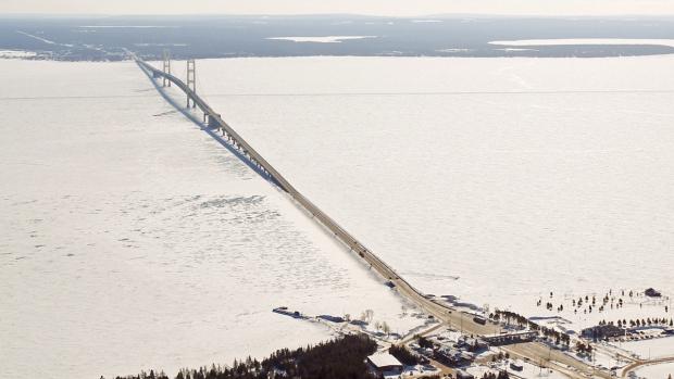 The Mackinac Bridge