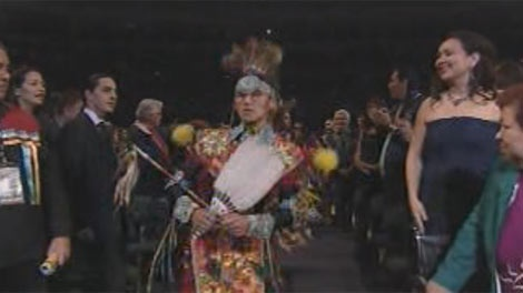 MTS Centre played host to the 6th annual Aboriginal People's Choice Music Awards Friday night.