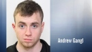 Andrew Gangl, 24, is shown in an undated photo. Supplied.