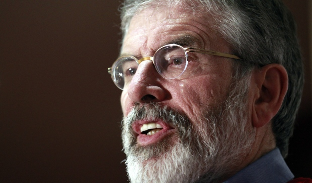 Sinn Fein leader Gerry Adams arrested