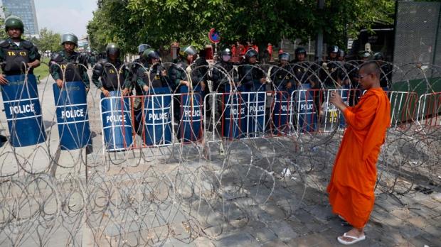 Freedom Park in Phnom Penh, Cambodia