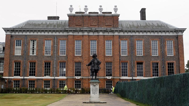 In this June 6, 2011 file photo, Kensington Palace is pictured in London. The Duke and Duchess of Cambridge will use a small refurbished apartment at Kensington Palace as their official London home for the next year or so. The move is considered a temporary measure as their primary house will remain in Anglesey, Wales, where William serves as a Royal Air Force search-and-rescue helicopter pilot. That is expected to be their main residence until 2013.
