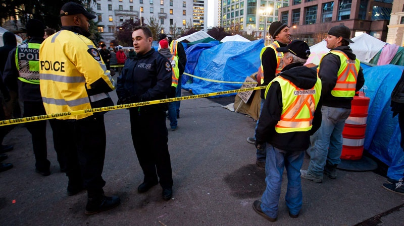 Occupy Vancouver, death