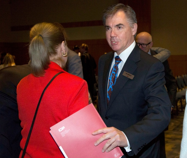 Canadian Pacific Rail board member Jim Prentice