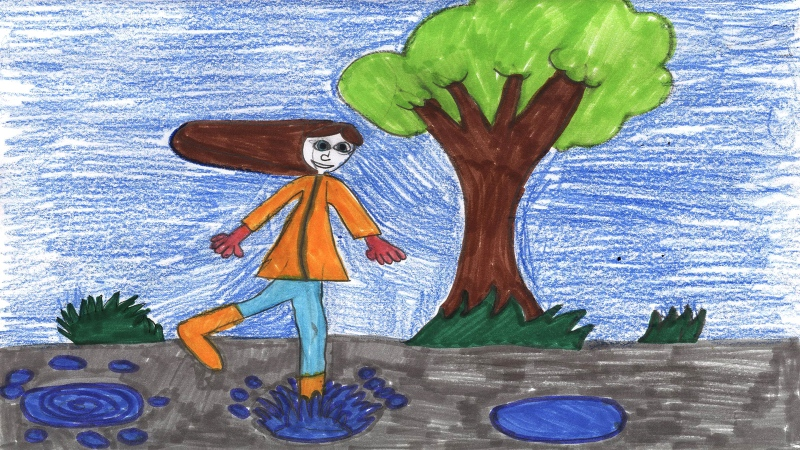 Taryn Cooper, 10 years old, Grade 5, Nationview Public School