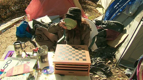 Occupy Toronto participants are preparing for a long winter ahead of them.