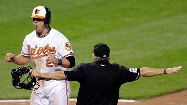 Baltimore Orioles' Steve Pearce