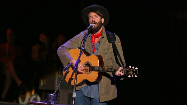 Ray LaMontagne in Mountain View, Calif.
