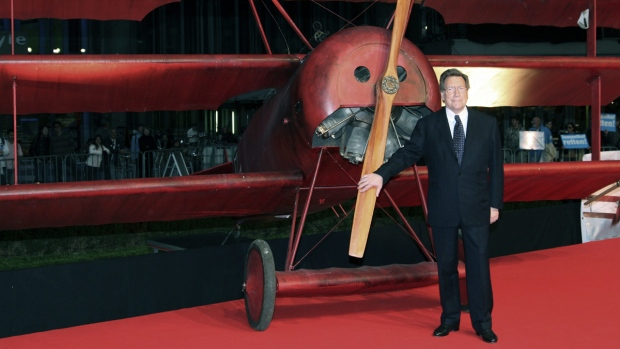 Red Baron's nephew Manfred von Richthofen in 2008