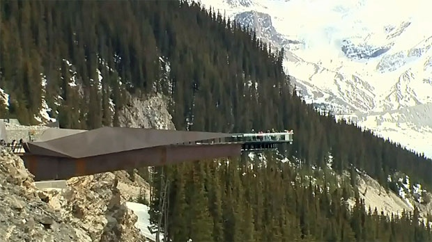 Stunning Valley Views Greet Guests Of Glacier Skywalk