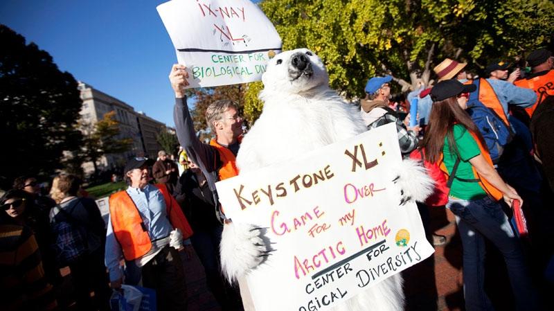 pipeline, keystone XL, protesters, Parliament Hill