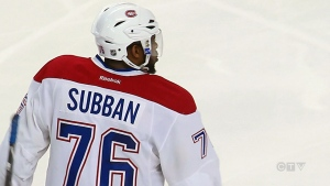 CTV National News: Habs player deflects racism