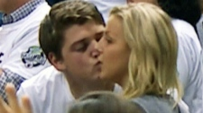 Toronto Raptors fan has kiss dodged by girlfriend