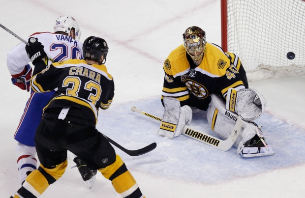 Montreal Canadiens fall to Bruins 5-3