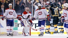 Montreal Canadiens defenseman Josh Gorges (26), go