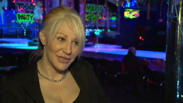 Guelph strip club, lesbian threesome chubby