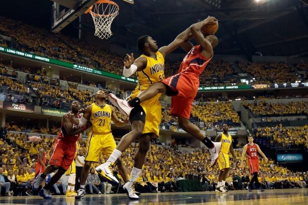 Pacers Hawks