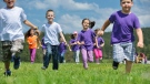 Two new studies have found that Canadian children are in the middle of the pack when it comes to fitness and that most three- and four-year-olds are meeting activity guidelines but are still spending too much time staring at screens. (dotshock / shutterstock.com)