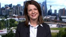 Wildrose leader Danielle Smith