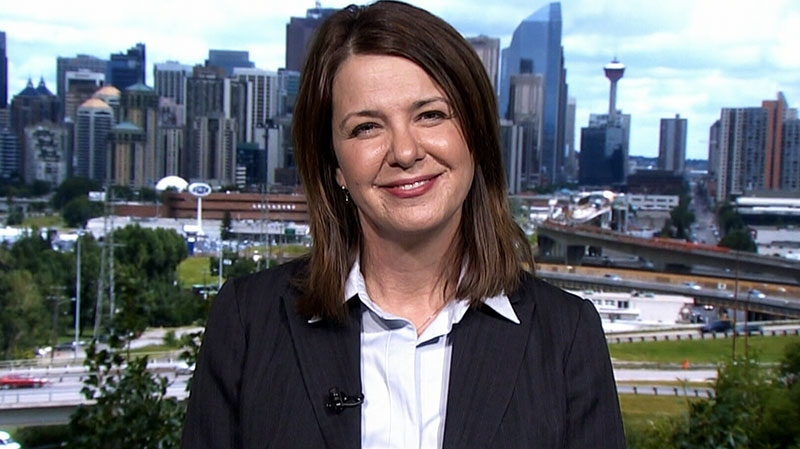 Wildrose Party leader Danielle Smith on CTV's Question Period, Sunday, May 4, 2014.