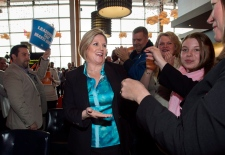 Andrea Horwath Ontario election campaign