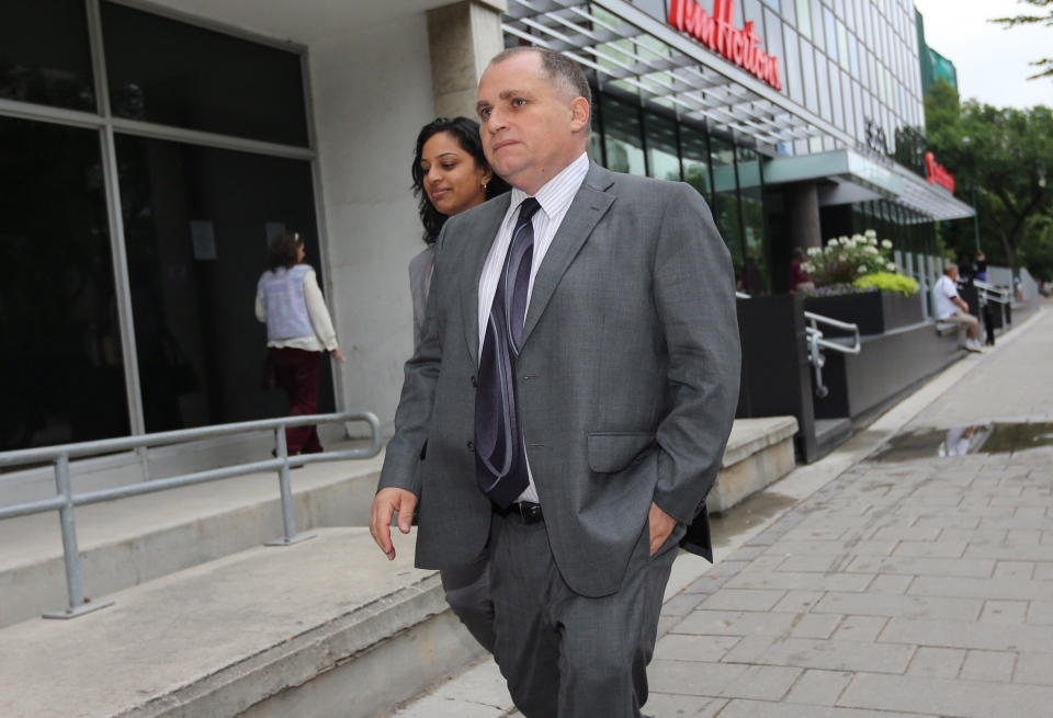 Toronto-based attorney Rocco Galati is seen outside the Federal Court Building in Winnipeg, Monday, July 16, 2012. (Trevor Hagan / THE CANADIAN PRESS)
