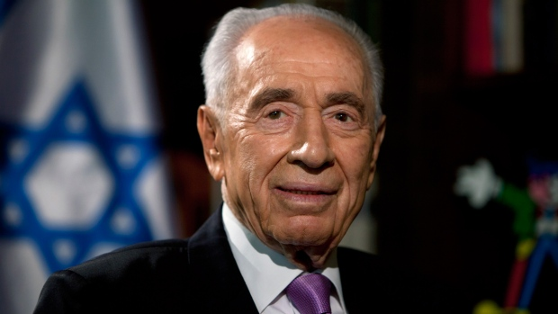 Shimon Peres in Jerusalem