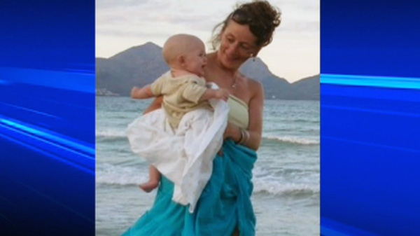 Memorial for pregnant cyclist killed 3 years ago uses reflexology footpath