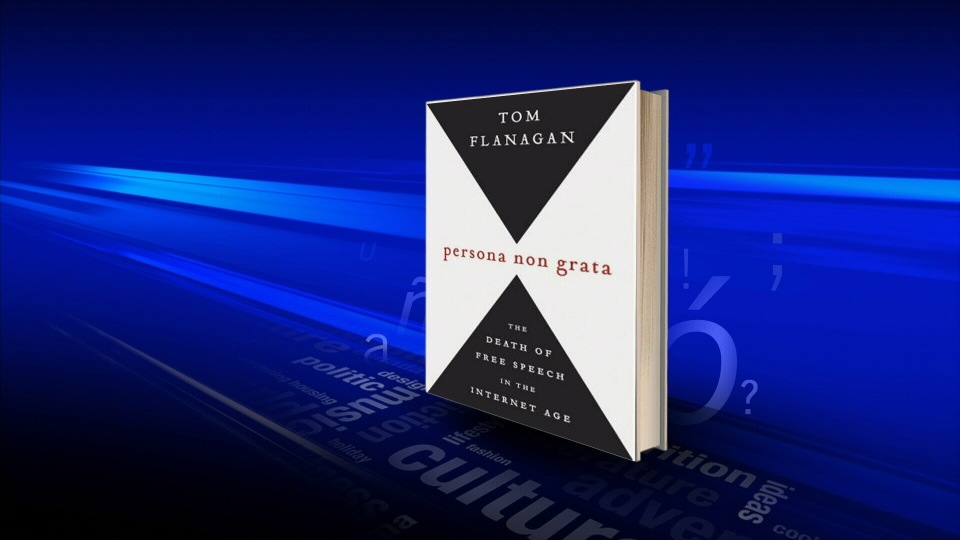 Former political adviser Tom Flanagan details the fallout from comments he made about child pornography at a lecture at the University of Lethbridge in his new book 'Persona Non Grata.'