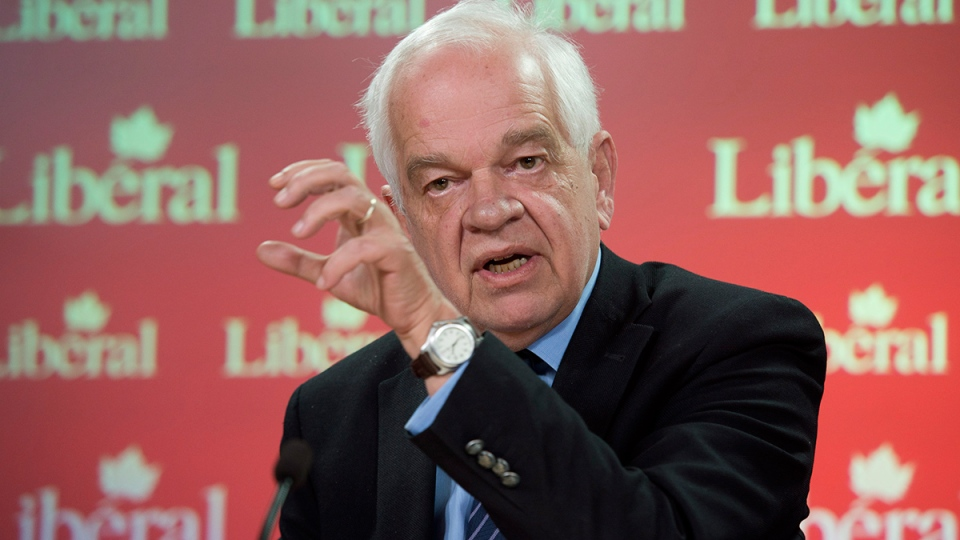 Liberal Critic for Citizenship, Immigration, and Multiculturalism, John McCallum speaks about the Temporary Foreign Worker Program during a news conference, in Ottawa, Monday, May 5, 2014. (Adrian Wyld / THE CANADIAN PRESS)