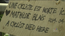 CTV Montreal: Mathilde Blais remembered