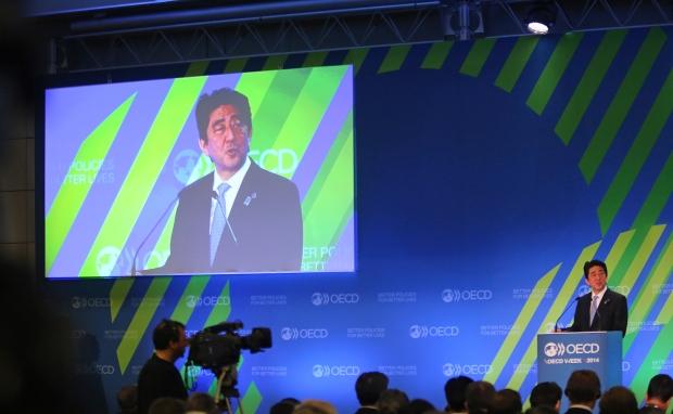 OECD says economy will grow more slowly