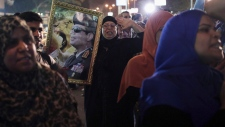 Egypt court bans Mubarak's party officials