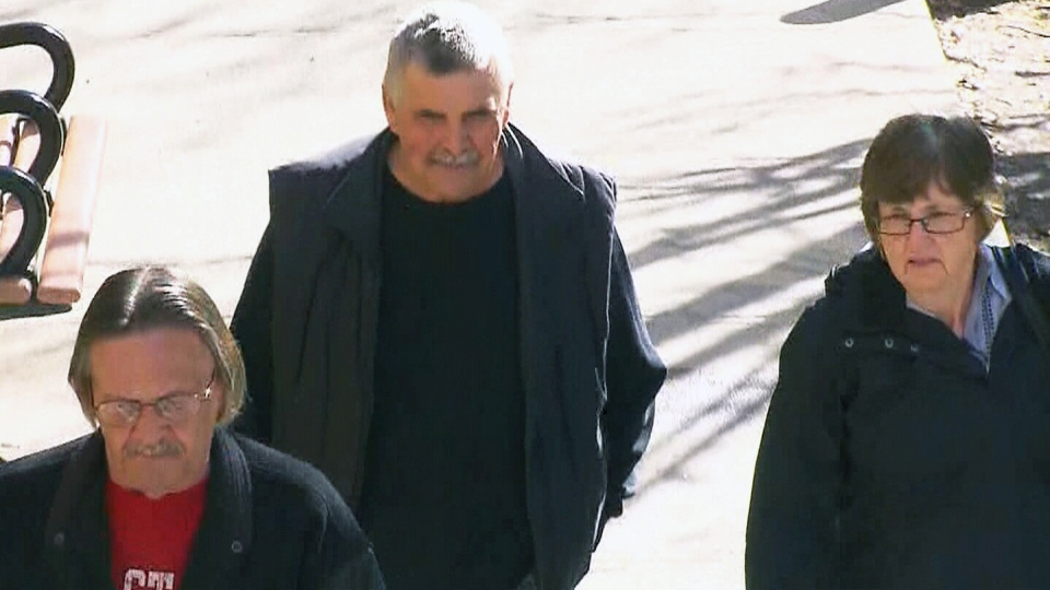 Gordon Stuckless appears at a Toronto court on Tuesday, May 6, 2014.