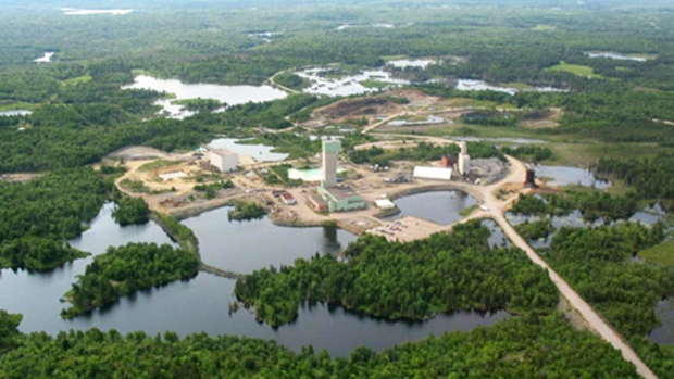 The Lockerby Mine in Sudbury, Ont., is seen in this undated photo. (FNIMining.com)