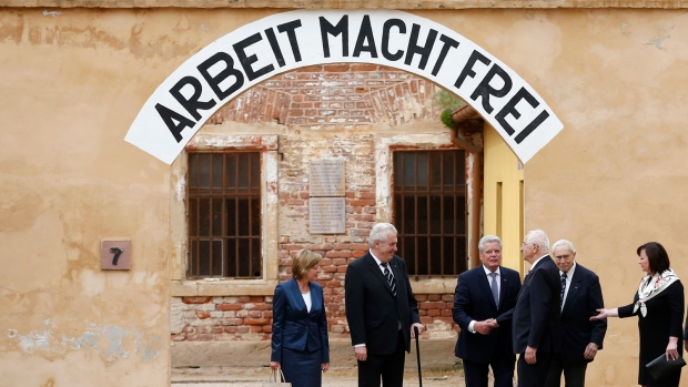 German president visits former concentration camp
