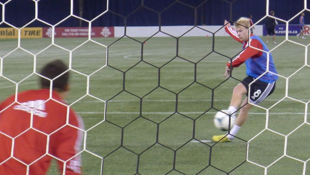 Toronto FC goalie given first start of the season