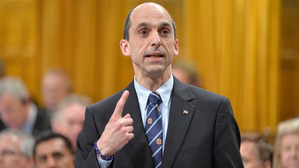 Public safety minister Steven Blaney responds to a question during Question Period in the House of Commons in Ottawa, Tuesday May 6, 2014. (Adrian Wyld / THE CANADIAN PRESS)
