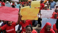 Nigeria protest missing school girls