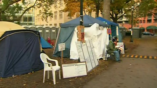 London, Ont., police remove Occupy protesters' tents