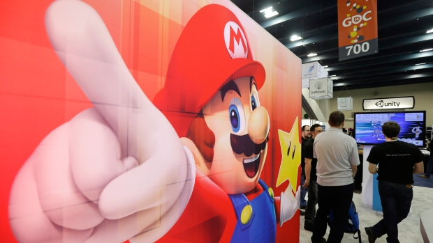 Nintendo booth at Game Developers Conference 2014