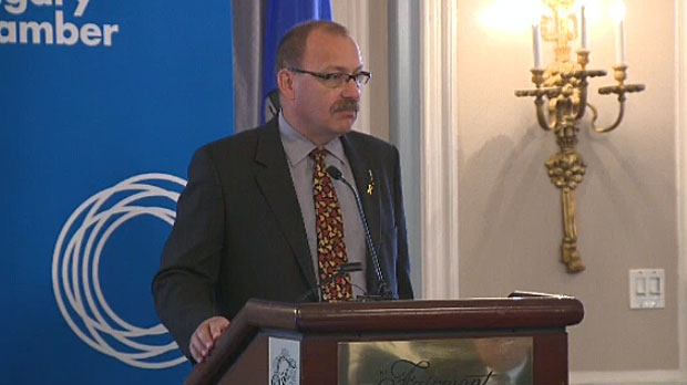 Ric McIver resigned from his cabinet post on Tuesday afternoon and is expected to announce his candidacy for the leadership of the PC Party in Alberta on May 7, 2014.