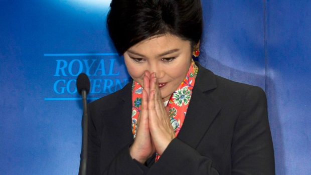 Thailand's prime minister out of office